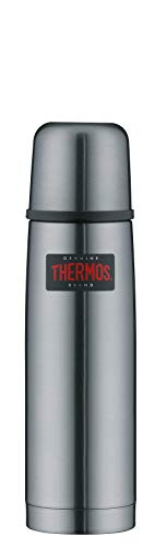 THERMOS 4019.218.050 thermosfles Light & Compact, roestvrij staal Cool Grey 0,5 l