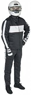G-Force 4386LRGBK GF 505 Black Large Triple Layer Racing Pants