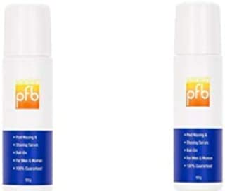 Bundle Of 2 PFB Vanish Roll on Shaving Gel for Ingrown Hair, 93 grams