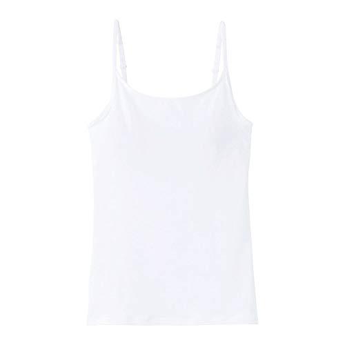 (グンゼ)GUNZE(クールマジック)COOLMAGIC着る日焼け止めブラキャミソールカップ付(OW-オフホワイト、M)