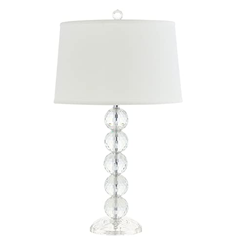 Lámpara de Cabecera Lámpara de mesa lámpara de mesa de cristal moderna creativa múltiple de cristal de cristal lámpara de noche lámpara de tela blanca tela nórdica sala de estar lámpara decorativa LLá