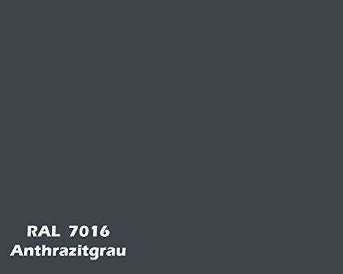 Protekta Hochleistung Silikon Fassadenfarbe 15L Hybrid-Nano-Keramik-Technologie nach RAL-Farben (RAL7016)