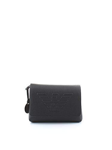 Luxury Fashion | Emporio Armani Dames Y3E148YGF8B82846 Zwart Kunstleer Schoudertassen | Lente-zomer 20