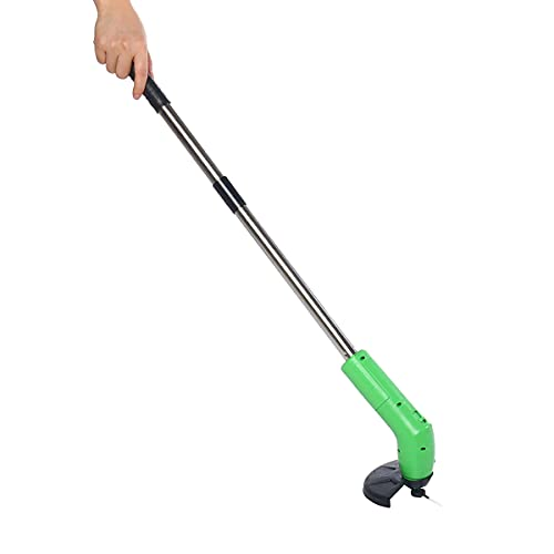 XNTBX Cordless Grass Trimmer Heavy Duty Weed Strimmer Garden Cutter Tool