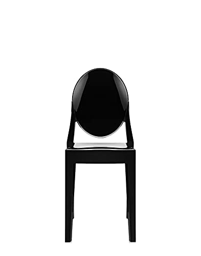 Kartell Victoria Ghost, Chaise, Blanc, Lot de 2