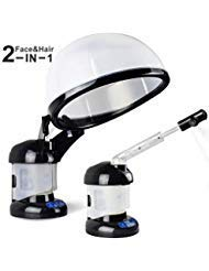 Hair Steamer Kingsteam 2 in 1 Ozone Facial Steamer, Design for Personal Care Use At Home or Salon
