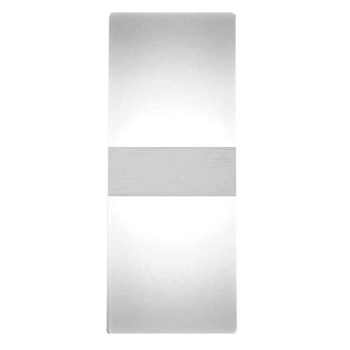 WY-YAN Moderno LED crylic aplique de la pared de 12W 6000K Blanco fresco arriba abajo de la lámpara for el dormitorio Corredor Escalera baño interior del accesorio de iluminación Casa Lámparas decorac
