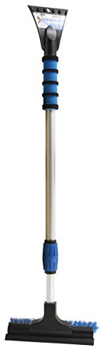 """Mallory 581-E Mallory Telescoping Sport Utility Snow Broom with 8"""" Head (Colors may vary)"""