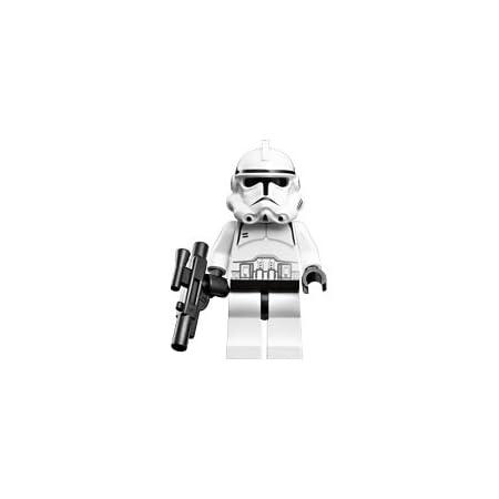Star Wars 21 Pcs White Clone Trooper Combat Team Minifigures Toy Clonetrooper US