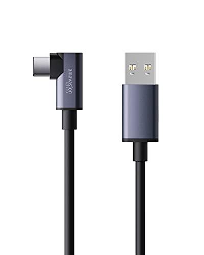 HNSN - Cable de conector USB 3.2 de alta velocidad tipo A a tipo C para juegos de realidad virtual de Oculus Quest 2 y Quest