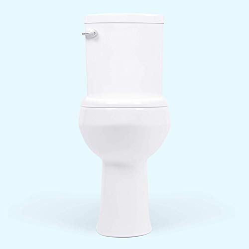 20 inch Extra Tall Toilet. Convenient Height bowl taller than ADA Comfort Height. Dual flush, Slow-close seat, New handle