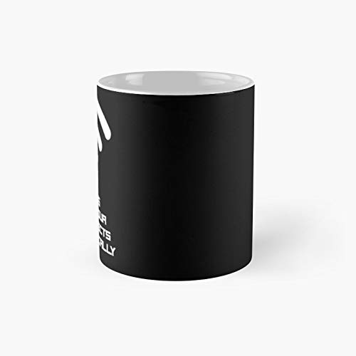 Home Is Where Your Wifi Connects Automatically Classic Mug - Funny Gift Coffee Tea Cup White 11 Oz The Best Gift For Holidays.
