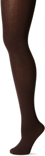 HUE Super Opaque Tights with Control Top Espresso 4 California