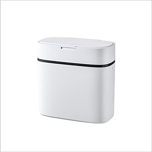 Papelera para el hogar de gran tamaño sala de estar, cocina, cesta de papel higiénico, tipo prensa para inodoro, clasificación creativa papelera