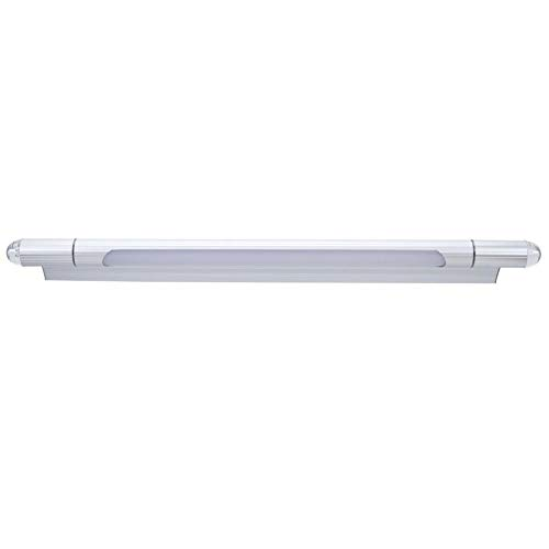 Lampada a specchio di colore argento, applique da parete per specchio, risparmio energetico per il bagno di armadio da bagno, comodino