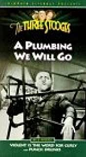 The Three Stooges: A Plumbing We Will Go VHS