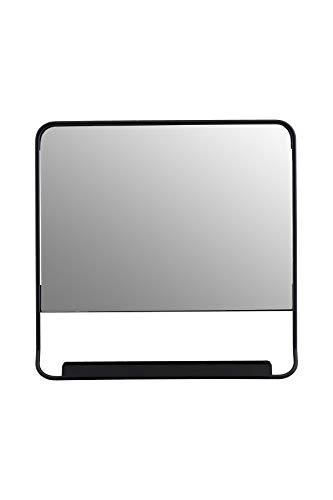 House Doctor spiegel, Chic, zwart, B x H 45 cm, eenheidsmaat