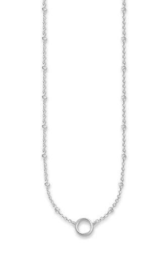 THOMAS SABO Damen Charm-Kette Charm Club Längenverstellbar 40-45 cm 925 Sterling Silber X0233-001-12