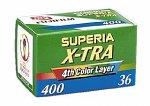 Fuji Superia X-TRA 400-36 Color-Negativ-Film