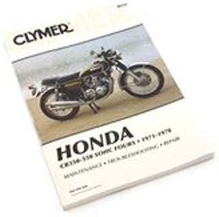 Clymer Manual - Compatible with Honda CB350-550 SOHC Fours 1971-1978