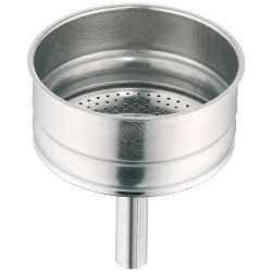 Embudo + Reductor Colador tamaño 4 tazas de espresso eléctrica ...