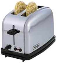 DeLonghi CT12 Classica 2-Slice Toaster, Chrome