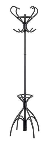 Haku meubel garderobestandaard, stalen buis, zwart, Ø 51 x H 186 cm