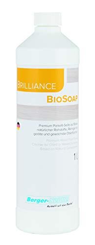 Berger-Seidle Classic BioSoap, Holzbodenseife zur Reinigung und Pflegebehandlung von geölten und geölt-/gewachsten Parkett- und anderen Holzfußböden (1 Liter)