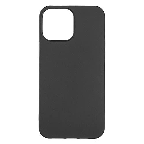 Apple iPhone 13 Pro Max (アイフォン13プロマックス 6.7インチ) ケース 【 Judaz 】マット質感 シンプル TPU ソフト カバー アップル iphone13promax あいふぉん13Promax iPhone13Pro Max 専用 黒