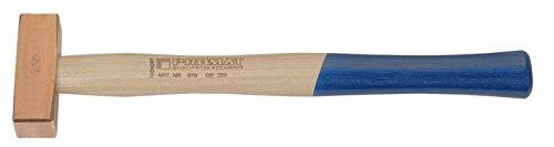 Kupferhammer Hickorystiel , Gewicht : 750 g, Stiellänge : 350 mm