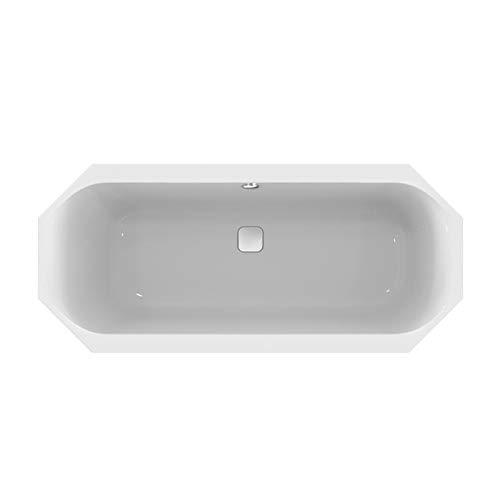Ideal Standard Achteck-Badewanne TONIC II, mit Ablauf, 1800x800x480mm, Weiß, K291801