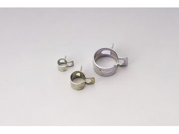 キジマ(Kijima) ホースパワーバンド 8mm (スチール:3価クロメート) 5個入り 104-2202