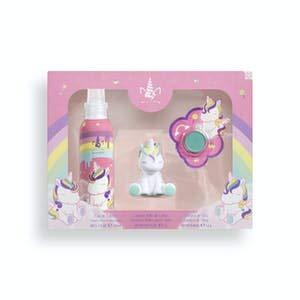 Lote infantil My Unicorn contiene eau de toilette 150 ml, llavero brillo de labios y sombra de ojos