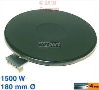 Unbekannt Kochplatte 180mmØ, 1500W 230V, passend zu Geräten von:Agni Balay Bosch Constr.
