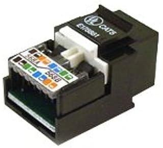 Belkin 10/100BT Cat5 Keystone Jack with 568A/568B Locking Tab (Black)