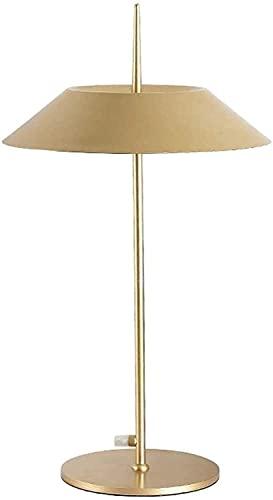 YMLSD Lámparas de Mesa, Iluminación Decorativa Interior Lámpara de Mesa Sala de Estar Moderna Lámpara de Mesa de Moda Lámpara de Mesita de Noche Minimalista Utilizada en el Tocador Del Dormitorio Sal