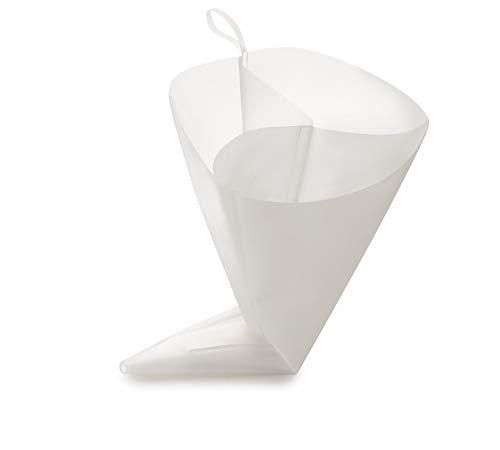 IBILI 798640 Poche Pâtissière Flexible Triple 40 cm, Polimere, Blanc, 18 x 2 x 13 cm