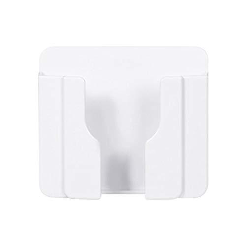 househome - Soporte de pared para soporte de teléfono móvil, soporte de pared para teléfono móvil, soporte de carga para teléfono móvil, mando a distancia, 8,5 x 10 cm
