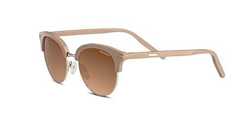 Serengetti Sport zonnebril glanzend rose en goud minerale driver gradiënt