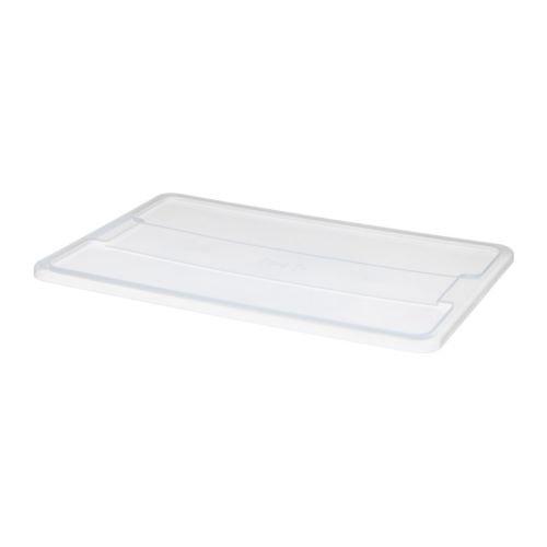 IKEA Deckel für SAMLA-Box für 45 Liter oder 65 Liter-Box - transparentes Polypropylen