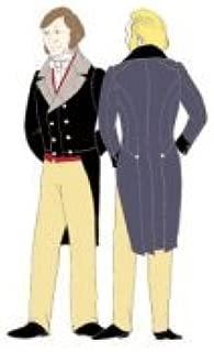 1840s Dress Coat Pattern