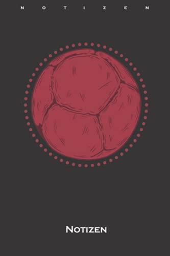 Boccia Kugel Ballsport Notizbuch: Punkteraster Notizbuch für Fans des Präzisionsspiels mit Kugeln