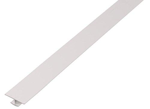 GAH-Alberts 484682 H-Profil   Kunststoff, weiß   1000 x 40 x 20 mm