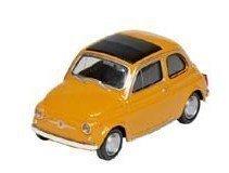 Fiat Nuova 500 giallo Lunghezza 8,5 cm metallo Modellino auto Welly 12175