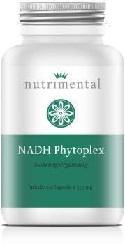 NADH Phytoplex - 50 Kapseln - Qualitätsmischung aus NADH Panmol und NADH Coenzym1
