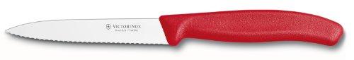 Victorinox Victorinox Swiss Classic 4 Inch Spear Tip, Serrated, Red Paring Knife