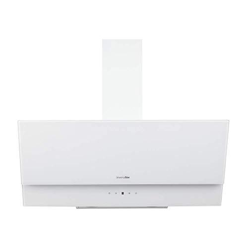 UNIVERSALBLUE - Campana Extractora de Cristal 90cm - Color Blanco - Eficiencia Energética C