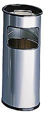 Cendrier de sécurité et corbeille à sable d'intérieur corps métal