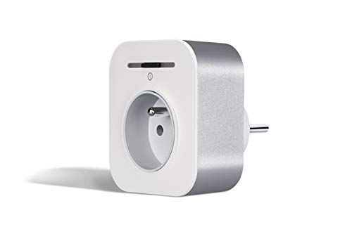 Prise intelligente connectée Bosch Smart Home (Livrée sans contrôleur Smart Home, Wifi, programmable pour gérer votre consommation - compatible avec Amazon Alexa et Assistant Google)
