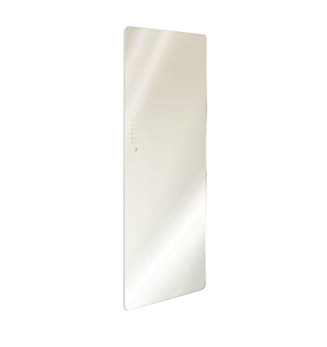 Radiador de Cristal Eléctrico Corner Color Blanco Minimo ingombro-ponsi toallero